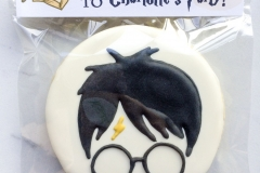 Harry Potter Cookie Birthday Favors
